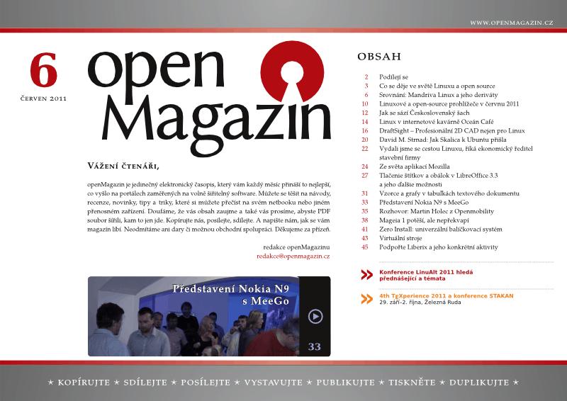 openMagazin 06/2011
